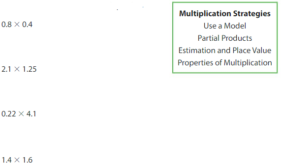 Big Ideas Math Solutions Grade 5 Chapter 5 Multiply Decimals 5.8 1