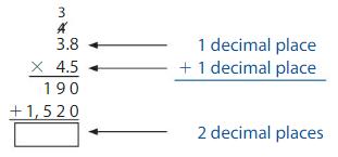 Big Ideas Math Solutions Grade 5 Chapter 5 Multiply Decimals 5.8 15