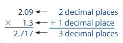 Big Ideas Math Solutions Grade 5 Chapter 5 Multiply Decimals 5.8 2