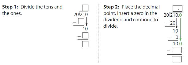 Big Ideas Math Solutions Grade 5 Chapter 7 Divide Decimals 7.8 7