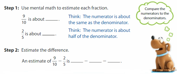 Big Ideas Math Solutions Grade 5 Chapter 8 Add and Subtract Fractions 22