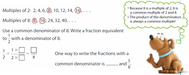 Big Ideas Math Solutions Grade 5 Chapter 8 Add and Subtract Fractions 30