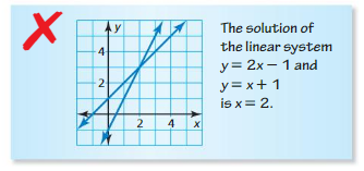 Big Ideas Math Algebra 1 Answer Key Chapter 5 Solving Systems of Linear Equations 5.1 10