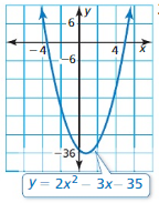 Big Ideas Math Algebra 1 Answer Key Chapter 7 Polynomial Equations and Factoring 7.6 5