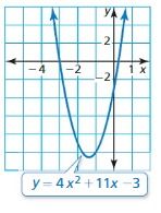 Big Ideas Math Algebra 1 Answer Key Chapter 7 Polynomial Equations and Factoring 7.6 6
