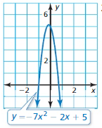 Big Ideas Math Algebra 1 Answer Key Chapter 7 Polynomial Equations and Factoring 7.6 7