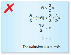 Big Ideas Math Algebra 1 Answers Chapter 2 Solving Linear Inequalities 45