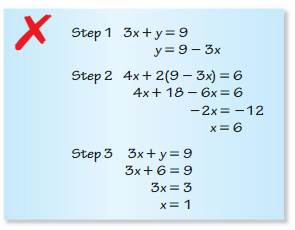 Big Ideas Math Algebra 1 Answers Chapter 5 Solving Systems of Linear Equations 5.2 3