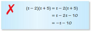 Big Ideas Math Algebra 1 Answers Chapter 7 Polynomial Equations and Factoring 7.2 4