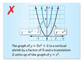 Big Ideas Math Algebra 1 Answers Chapter 8 Graphing Quadratic Functions 8.2 5