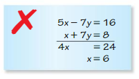 Big Ideas Math Algebra 1 Solutions Chapter 5 Solving Systems of Linear Equations 5.3 3