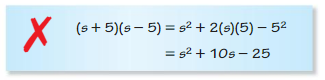 Big Ideas Math Algebra 1 Solutions Chapter 7 Polynomial Equations and Factoring 7.3 11