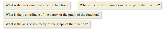 Big Ideas Math Algebra 1 Solutions Chapter 8 Graphing Quadratic Functions 8.3 3