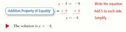 Big Ideas Math Answer Key Algebra 1 Chapter 1 Solving Linear Equations 106.1