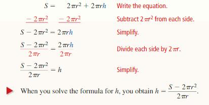 Big Ideas Math Answer Key Algebra 1 Chapter 1 Solving Linear Equations 116