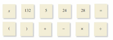 Big Ideas Math Answer Key Algebra 1 Chapter 1 Solving Linear Equations 120