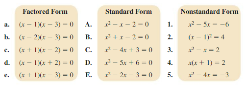 Big Ideas Math Answer Key Algebra 1 Chapter 7 Polynomial Equations and Factoring 7.4 1