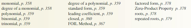 Big Ideas Math Answer Key Algebra 1 Chapter 7 Polynomial Equations and Factoring 7.4 14