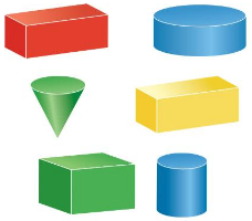 Big Ideas Math Answer Key Grade 1 Chapter 13 Two-and Three-Dimensional Shapes 124