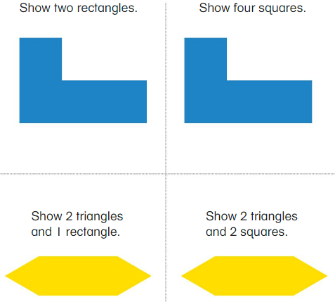 Big Ideas Math Answer Key Grade 1 Chapter 13 Two-and Three-Dimensional Shapes 92