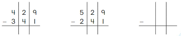 Big Ideas Math Answer Key Grade 2 Chapter 10 Subtract Numbers within 1,000 10.5 6