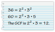 Big Ideas Math Answer Key Grade 6 Advanced Chapter 1 Numerical Expressions and Factors 37
