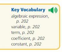 Big Ideas Math Answer Key Grade 6 Chapter 5 Algebraic Expressions and Properties 13