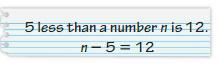 Big Ideas Math Answer Key Grade 6 Chapter 6 Equations 6.1 12