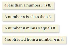 Big Ideas Math Answer Key Grade 6 Chapter 6 Equations 6.1 4