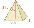 Big Ideas Math Answer Key Grade 7 Chapter 10 Surface Area and Volume 10.5 15