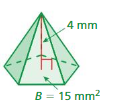 Big Ideas Math Answer Key Grade 7 Chapter 10 Surface Area and Volume 10.5 18