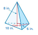 Big Ideas Math Answer Key Grade 7 Chapter 10 Surface Area and Volume 10.5 20