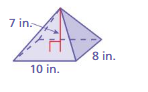 Big Ideas Math Answer Key Grade 7 Chapter 10 Surface Area and Volume 10.5 5