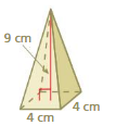 Big Ideas Math Answer Key Grade 7 Chapter 10 Surface Area and Volume 10.5 8