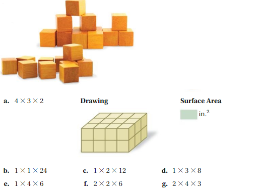 Big Ideas Math Answer Key Grade 7 Chapter 10 Surface Area and Volume 4