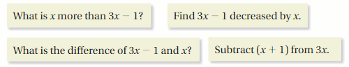 Big Ideas Math Answer Key Grade 7 Chapter 3 Expressions 35