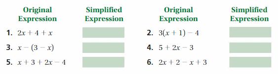 Big Ideas Math Answer Key Grade 7 Chapter 3 Expressions 5