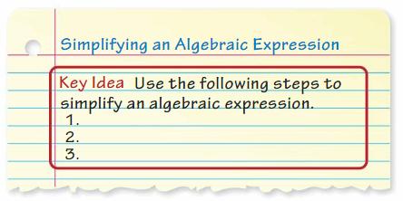 Big Ideas Math Answer Key Grade 7 Chapter 3 Expressions 6
