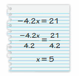 Big Ideas Math Answer Key Grade 7 Chapter 4 Equations and Inequalities 31