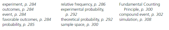 Big Ideas Math Answer Key Grade 7 Chapter 7 Probability cr 1