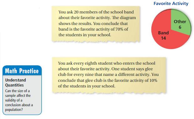 Big Ideas Math Answer Key Grade 7 Chapter 8 Statistics 8.1 2