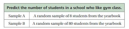 Big Ideas Math Answer Key Grade 7 Chapter 8 Statistics cr 6