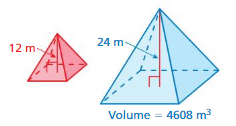 Big Ideas Math Answer Key Grade 8 Chapter 10 Volume and Similar Solids cr 24