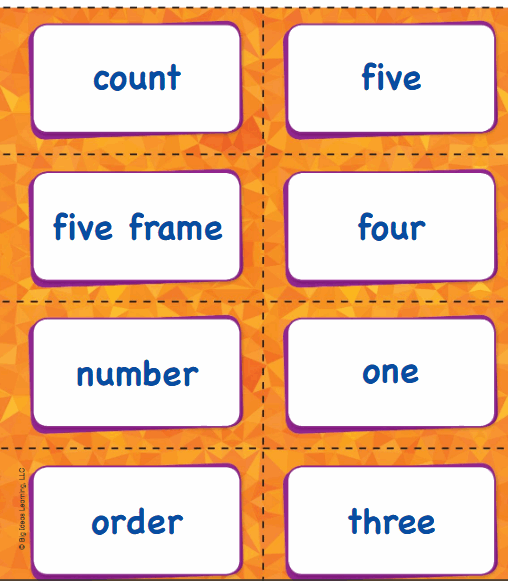 Big Ideas Math Answer Key Grade K Chapter 1 Count and Write Numbers Numbers 0 to 5 3