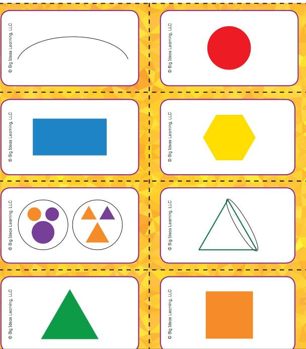Big Ideas Math Answer Key Grade K Chapter 11 Identify Two-Dimensional Shapes v 3