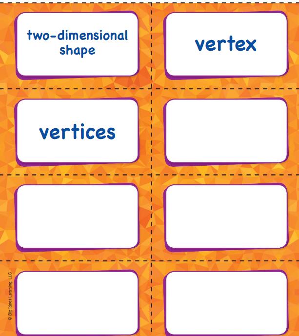 Big Ideas Math Answer Key Grade K Chapter 11 Identify Two-Dimensional Shapes v 4