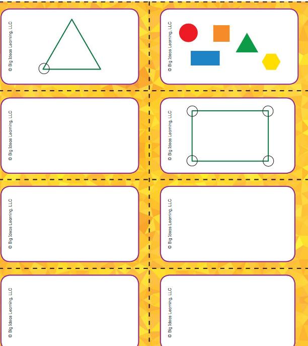 Big Ideas Math Answer Key Grade K Chapter 11 Identify Two-Dimensional Shapes v 5