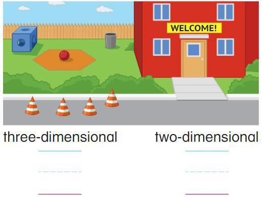 Big Ideas Math Answer Key Grade K Chapter 12 Identify Three-Dimensional Shapes 12.1 14