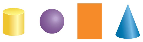 Big Ideas Math Answer Key Grade K Chapter 12 Identify Three-Dimensional Shapes 12.1 2