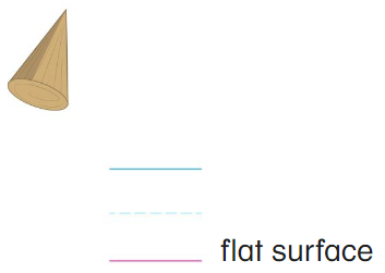 Big Ideas Math Answer Key Grade K Chapter 12 Identify Three-Dimensional Shapes 12.4 16